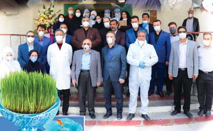 بازدید رئیس دانشگاه علوم پزشکی آزاد تهران از بعضی بیمارستان ها