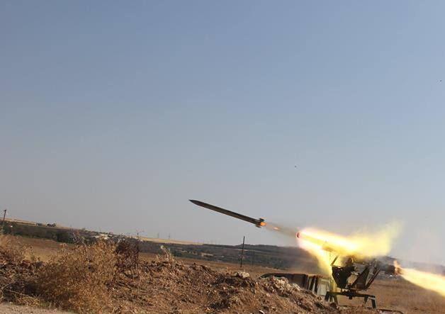 خبرنگاران منطقه آمرلی در عراق هدف سه راکت نهاده شد