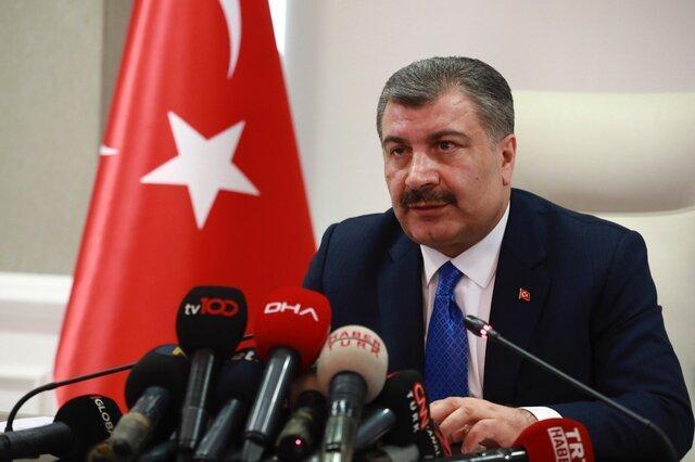 آخرین آمار از ابتلا به کرونا در ترکیه