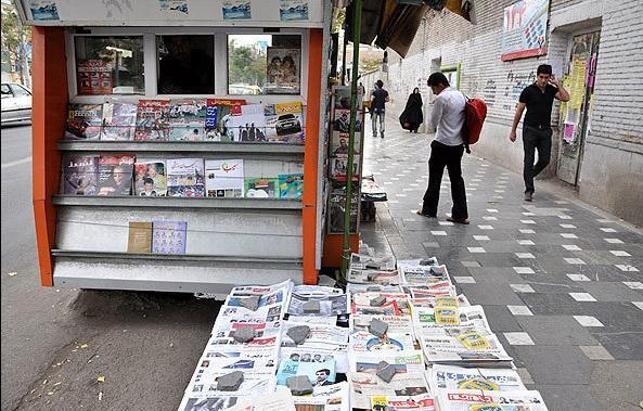 ساماندهی باجه های گل و مطبوعات پایتخت در سال جاری