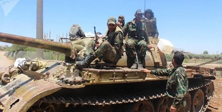 ارتش سوریه 7 تروریست جبهه النصره را در شمال حماه به هلاکت رساند