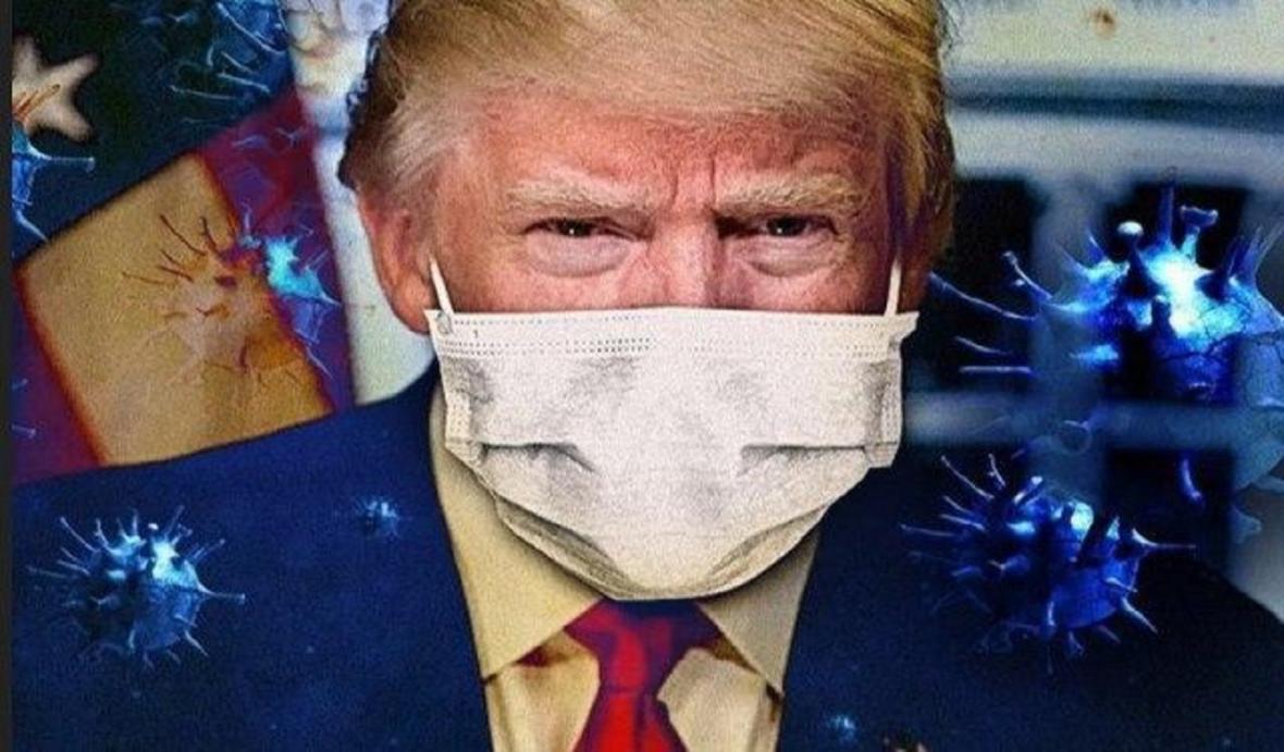 سردرگمی ترامپ در مقابله با کرونا در پرس تی وی