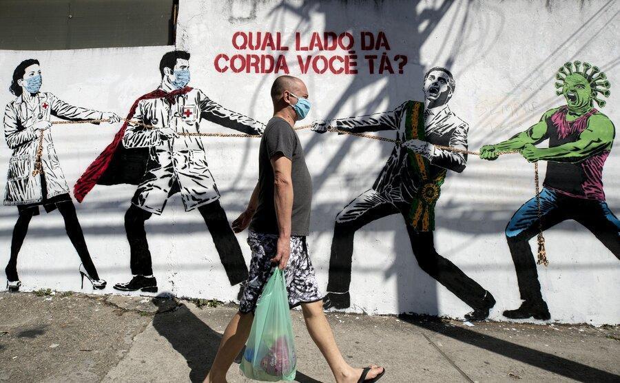 شمار موارد کرونا در برزیل از یک میلیون نفر گذشت