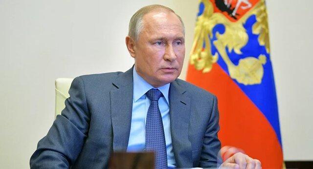 پوتین: روسیه در مرحله دشواری از کرونا است