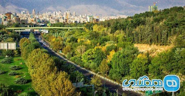 زلزله پارک های جنگلی تهران را باز کرد
