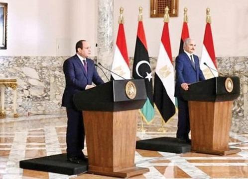 مصر و ژنرال حفتر پیشنهاد آتش بس دادند