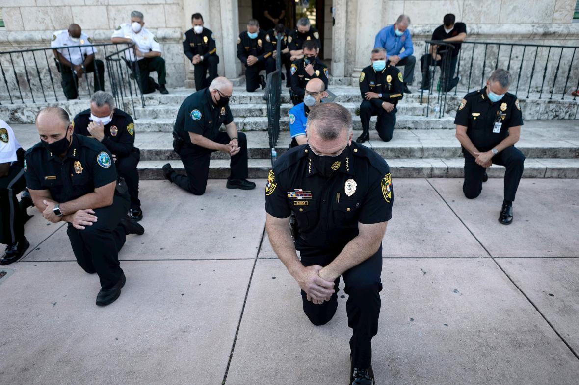 گزارش ان بی سی نیوز از سابقه خشونت پلیس مینیاپولیس