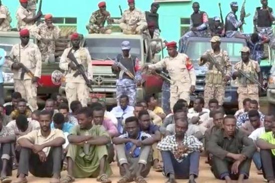 دستگیری 122 سودانی در راستا اعزام به لیبی