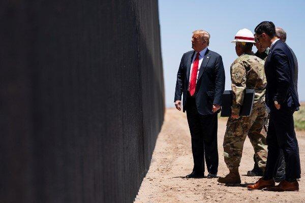 موافقت دیوان عالی آمریکا با ادامه ساخت دیوار مرزی