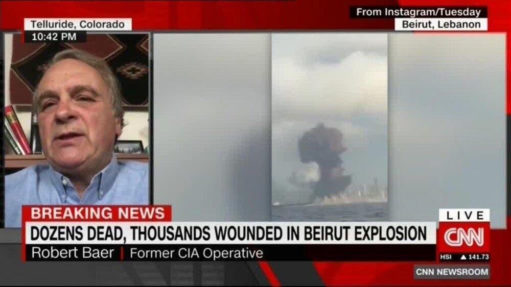 ادعای عامل سیا درباره انفجار بیروت
