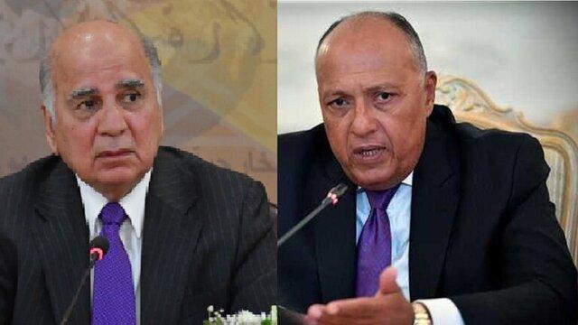 تجاوز اخیر ترکیه محور رایزنی وزرای خارجه عراق و مصر