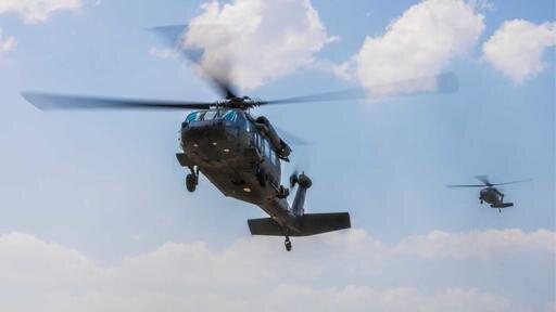 2 کشته و 3 مجروح در سقوط هلیکوپتر ارتش آمریکا در کلورادو