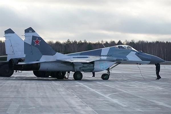 جنگنده میگ روسیه 3 بار برای رهگیری هواپیماهای بیگانه به هوا برخاست