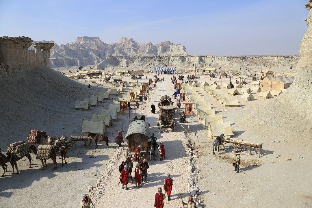 شروع فیلمبرداری مجدد سریال سلمان فارسی از امروز، سلمان به امپراتوری بیزانس وارد می گردد