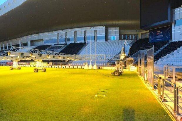 تصاویری از ورزشگاه محل برگزاری بازی پرسپولیس - پاختاکور