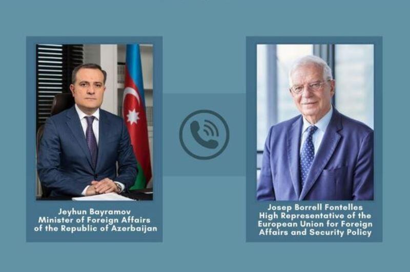 خبرنگاران وزیر خارجه آذربایجان و مسؤول سیاست خارجی اروپا مناقشه قره باغ را آنالیز کردند