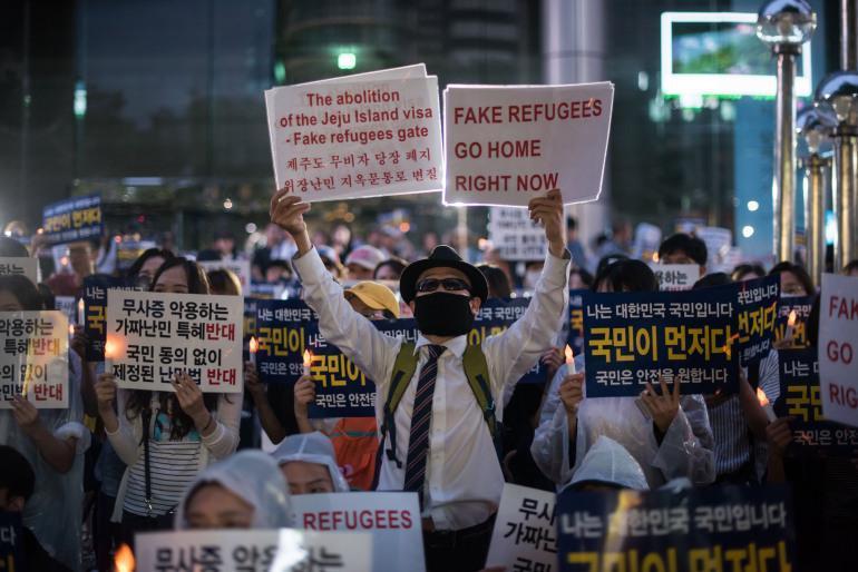 سختگیری کره جنوبی در پذیرش پناهجویان، انتقاد دیده بان حقوق بشر