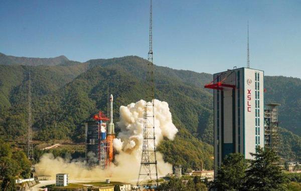 ماهواره زمینشناسی گائوفن 14 چین به فضا پرتاب شد
