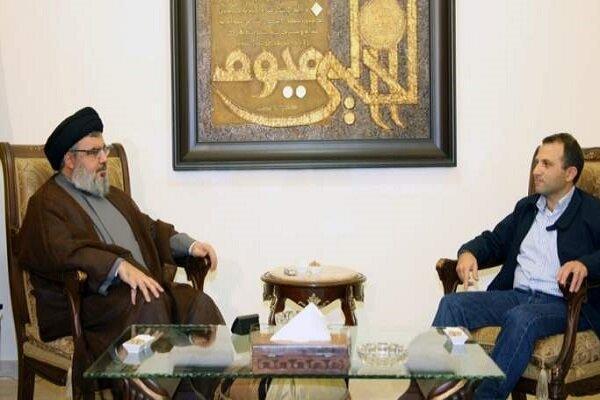 حزب الله و جریان آزاد ملی لبنان در جهت تقویت روابط دو جانبه