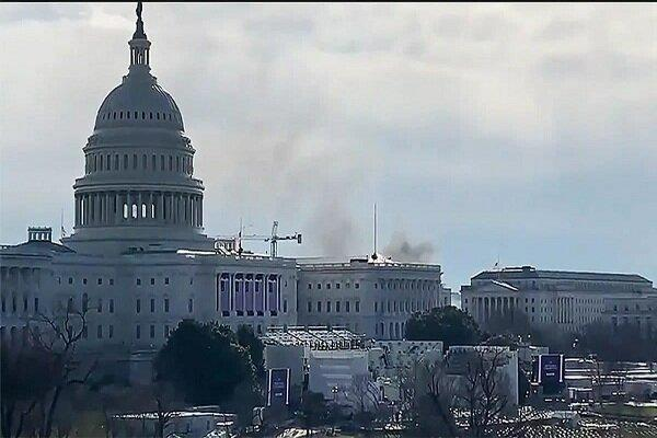 ساختمان کنگره آمریکا تعطیل شد، توصیه امنیتی پلیس به کارکنان