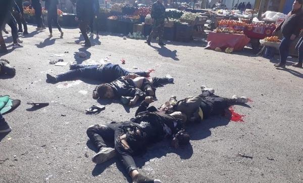 وقوع دو انفجار انتحاری در مرکز بغداد با 28 شهید و 73 زخمی، واکنش رئیس جمهور عراق