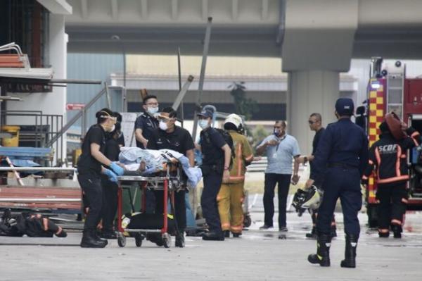 آتش سوزی مرگبار در غرب سنگاپور