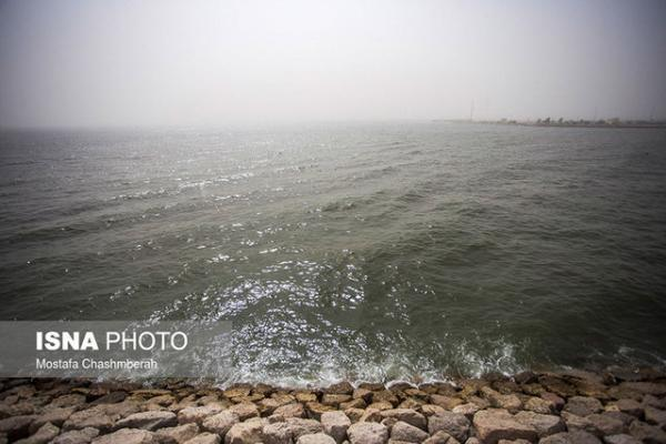 احتمال وقوع رگبار باران در جزایر خلیج فارس وجود دارد