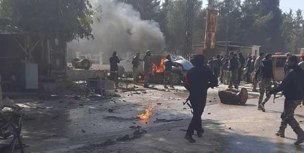 انفجار خودروی بمب گذاری شده در شمال شرق سوریه