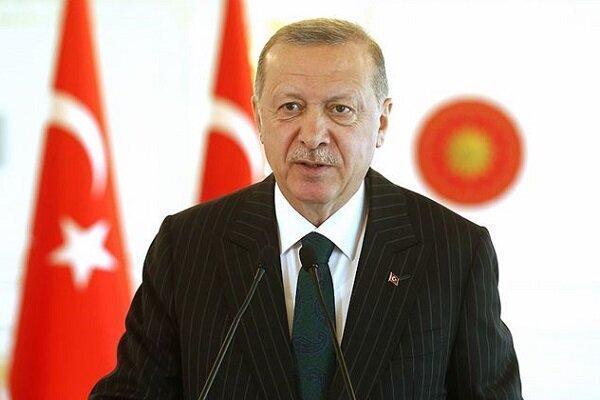 اردوغان: ترکیه ادعای مالکیت قلمرو هیچ منطقه ای را ندارد خبرنگاران