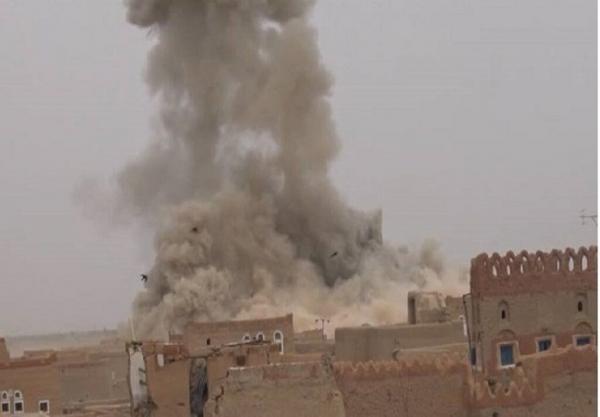 جنگنده های ائتلاف سعودی صنعای یمن را بمباران کردند