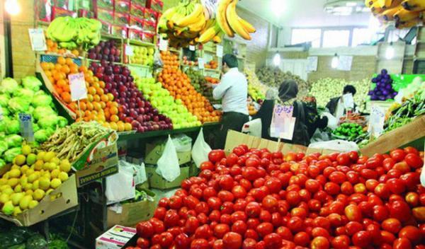 قیمت میوه و صیفی در مرکز عمده فروشی