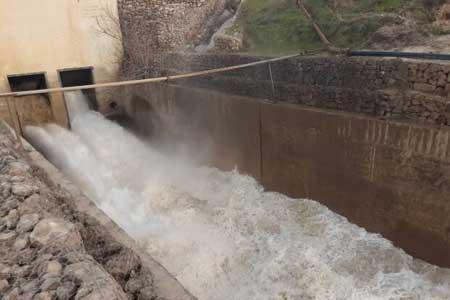 ورودی آب به سدهای کشور کاهش یافت