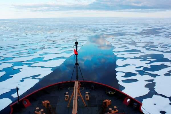کشف انبوه جیوه در یخچال های ذوب شده گرینلند