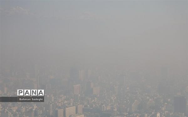 هوای 5 شهر ناسالم است