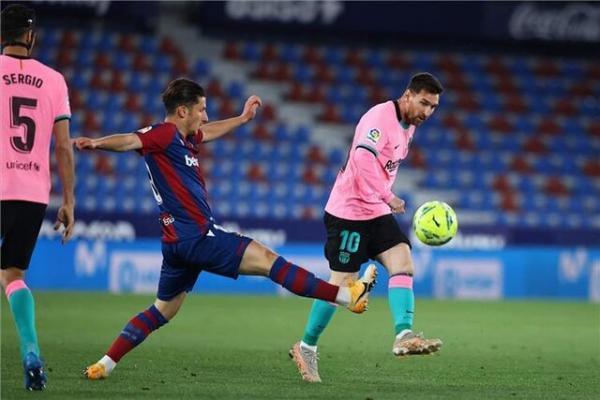 توقف ناامید کننده و بد موقع بارسلونا برابر لوانته