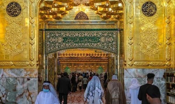 ورودی ها به سمت ضریح حرم حضرت عباس (ع) تکمیل شد