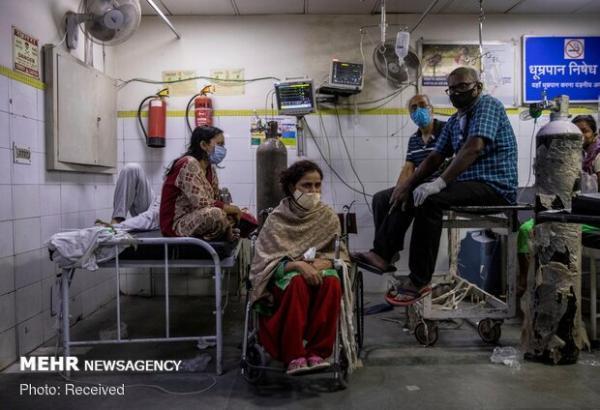 کرونا در هند 4002 قربانی گرفت، 84 هزار و 332 مورد تازه ابتلا