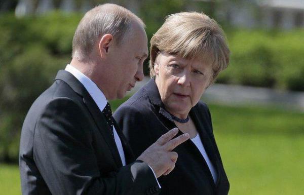 تاکید صدراعظم آلمان بر ضرورت ارتباط مستقیم اروپا با روسیه