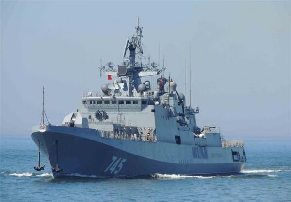 برگزاری رزمایش نیروهای دریایی و هوایی روسیه در دریای مدیترانه