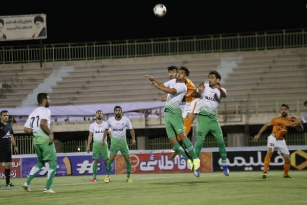 هفته 28 لیگ یک فوتبال، آرمان گهر پیروز دربی کرمان