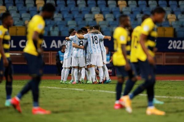 صعود قدرتمند آرژانتین در شب پیروزی کلمبیا در ضربات پنالتی