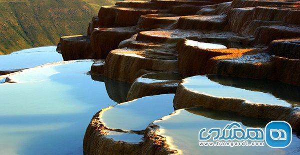 چشمه کم نظیری که در ایران قرار گرفته است