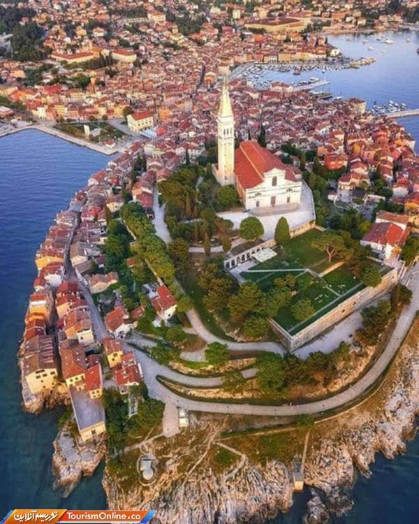 روینج شهری کوچک و زیبا در کرواسی